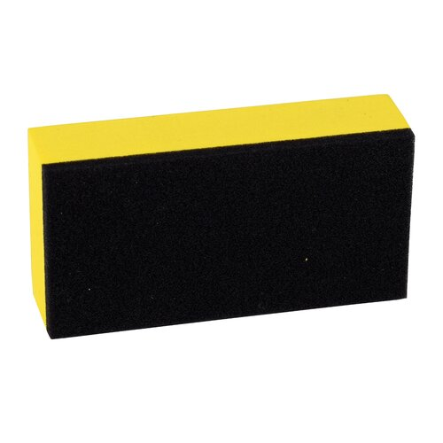 Liquid Elements Applikator Block Gelb mit Logo 8x4x2 cm Z15